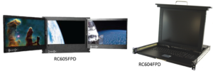 RC604FPD Series KVM and Displays